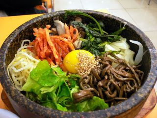 Korean hamburger